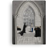 Professors Holmes and Watson Canvas Print
