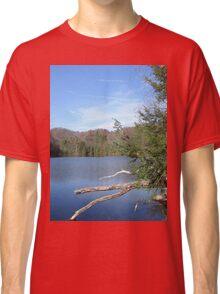 Nice & Relaxing West Virginia Mountain Lake Scene Classic T-Shirt