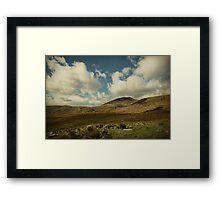 Irish Skies Framed Print