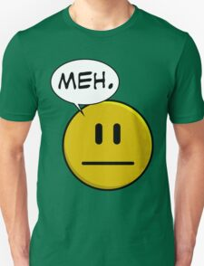 No Smiley - Meh T-Shirt