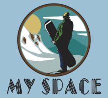 "Snowboarding ""My Space"" Kids Clothes"