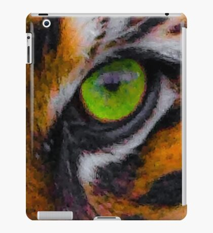 Tigers eyes iPad Case/Skin