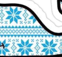 Winter Vineyard Vines Whale Sticker