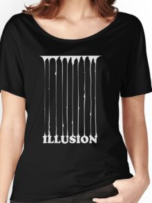 illusion  Women's Relaxed Fit T-Shirt