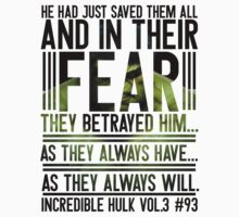 Fear (Incredible Hulk) T-Shirt