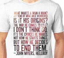 Choices (Hellboy) Unisex T-Shirt