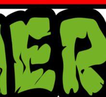 Teenage Mutant Nerdles Sticker