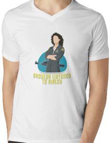 Shoulda Listened To Ripley Mens V-Neck T-Shirt