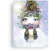 Ivy Holly  Canvas Print