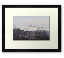 Fall on the Mountain Framed Print