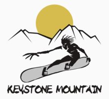 Keystone, Colorado Snowboarding by SportsT-Shirts