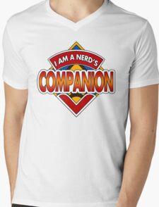 Dr Nerd's Companion Mens V-Neck T-Shirt