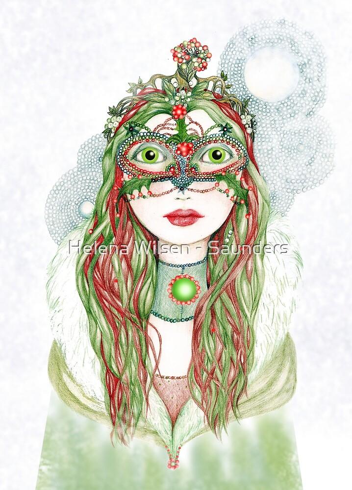The Yuletide Princess by Helena Wilsen - Saunders