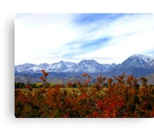 A Cool Sierra Fall Canvas Print