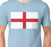 Flag of England (St. George's Cross) Authentic version to scale and color Unisex T-Shirt