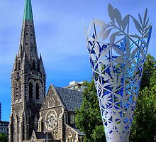 Christchurch Cathedral by Heike Richter