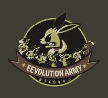 Eevolution Army by Kari Fry
