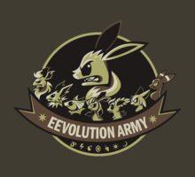 Eevolution Army by Kari Fry