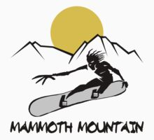 Mammoth Mountain, California Snowboarding Kids Clothes