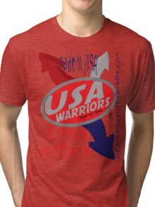 usa warriors arrows by rogers bros Tri-blend T-Shirt