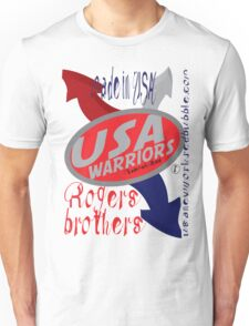 usa warriors arrows by rogers bros T-Shirt