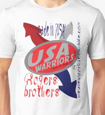 usa warriors arrows by rogers bros Unisex T-Shirt