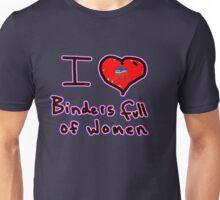 i love binders full of women Mitt Romney Unisex T-Shirt
