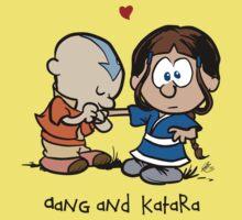 Aang & Katara (Avatar / Calvin & Hobbes) Kids Clothes