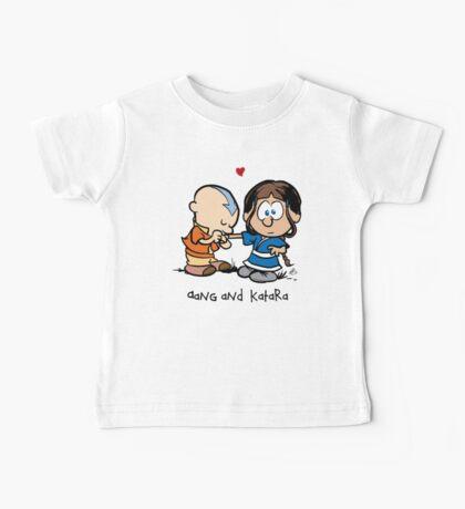 Aang & Katara (Avatar / Calvin & Hobbes) Baby Tee
