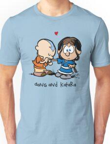 Aang & Katara (Avatar / Calvin & Hobbes) Unisex T-Shirt