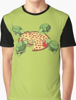 Hungry Hungry Turtles Graphic T-Shirt