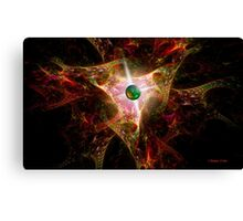Dance Of The Fire Dragons Canvas Print