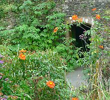 Floral Tower Entrance at Garden House by magicaltrails