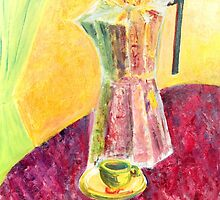 Coffee pot by Ruth Vilmi
