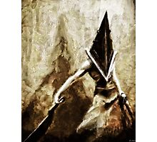 Pyramid Head Photographic Print
