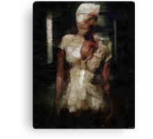 Silent Hill Nurse Canvas Print