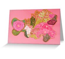 Roses and Orange Blossom Greeting Card