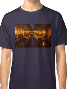 Amsterdam Canal in Golden Yellow Classic T-Shirt