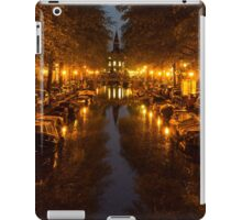 Amsterdam Canal in Golden Yellow iPad Case/Skin