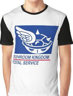 mushroom kingdom postal service Graphic T-Shirt