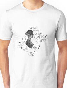 What would Jane Austen do ? (vintage) Unisex T-Shirt