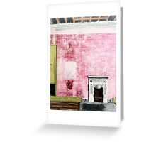Fire Place Greeting Card