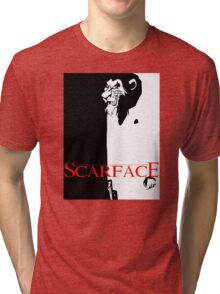 Scar Face Tri-blend T-Shirt