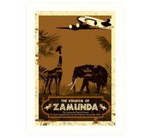 Visit Zamunda Art Print