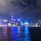 Hong Kong Island Skyline by Graham Ettridge
