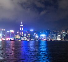Hong Kong Island Skyline by Graham Ettridge