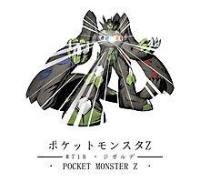 Pokemon Z Photographic Print