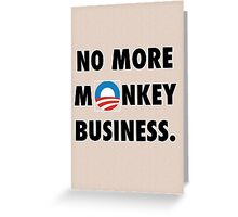 NObama Greeting Card
