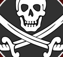 Pirate University Color Sticker