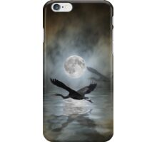 Heron Moon Fantasy iPhone Case iPhone Case/Skin